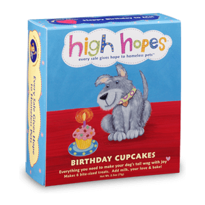 Dog Birthday Cupcakes