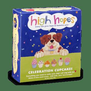 Dog Celebration Cupcakes (6-pack)