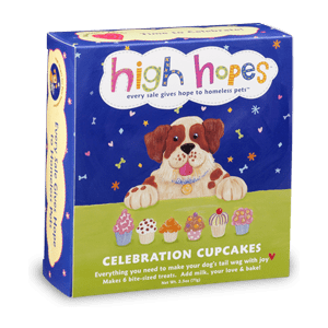 Dog Celebration Cupcakes (6-pack)