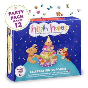 Dog Celebration Cupcakes (12-pack)